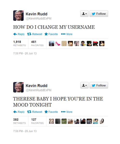 Kevin Rudd is Prime Minister of Australia (Again)