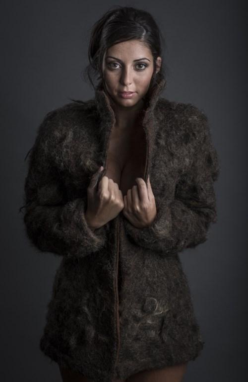 fur is murder,fur coats,chest hair,funny