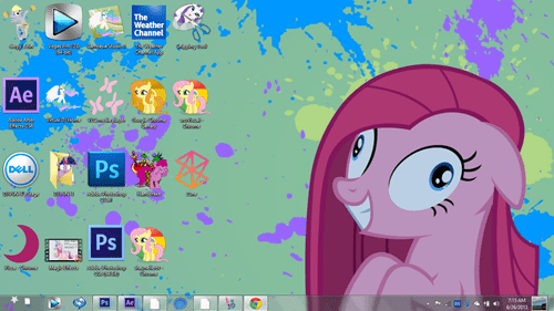 oh deskop icons aren't that bad