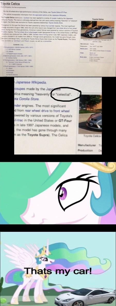 Toyota....Celestia