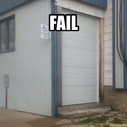 Wheelchair Access Fail