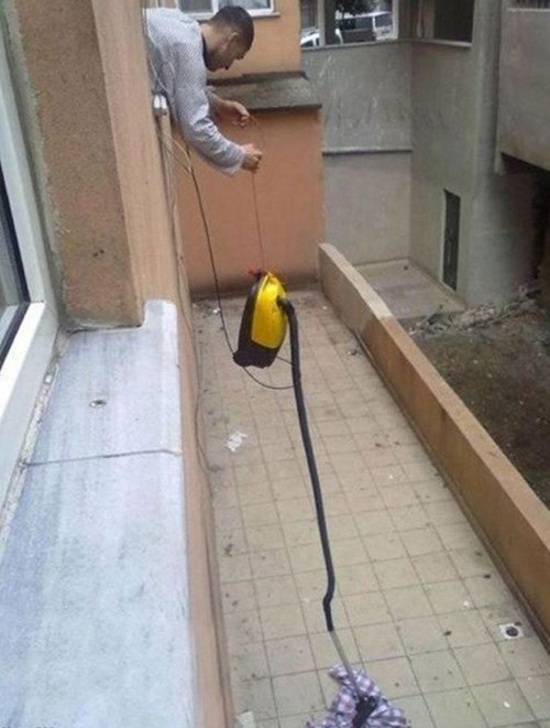 Drop Something?  Get the Vacuum!
