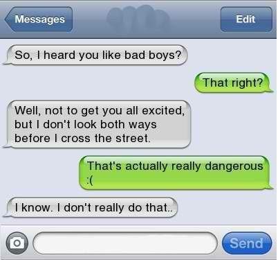 texting,funny,dating,bad boys