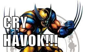 CRY HAVOK!!!