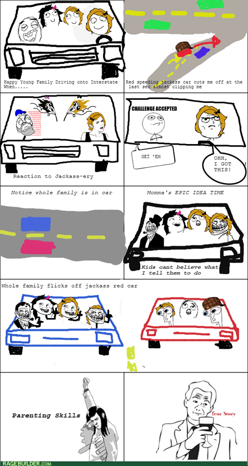 Family Road RAGE!!!