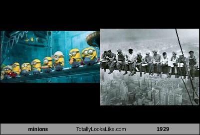 despicable me,totally looks like,workers,funny
