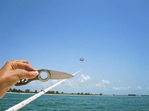 Parasailin' Away