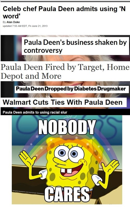 Other Than Her Corporate Sponsors