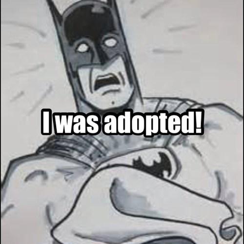 adopted,batman,funny,parents