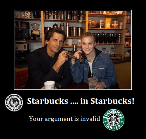 Yo Dawg, I Heard You Liked Starbucks