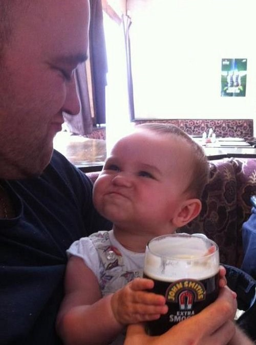 Babies,family resemblance,funny,parents