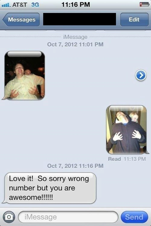 Wrong Numbers: Bringing People Together