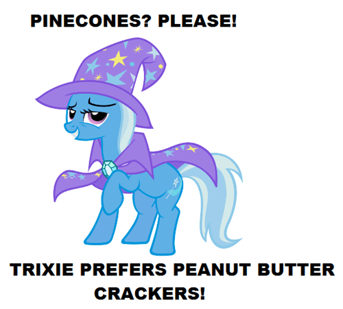 Disregard Pinecones, Acquire Crackers