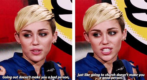 Preach It, Mileybird!