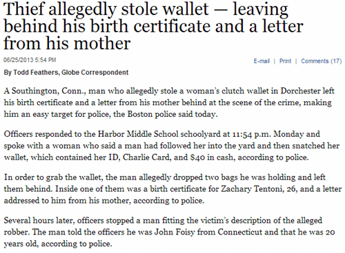 news,criminally dumb criminals,Probably bad News,funny