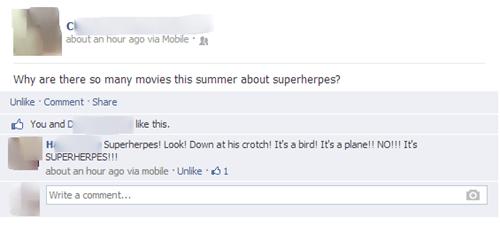 superherpes,herpes,superheroes,failbook