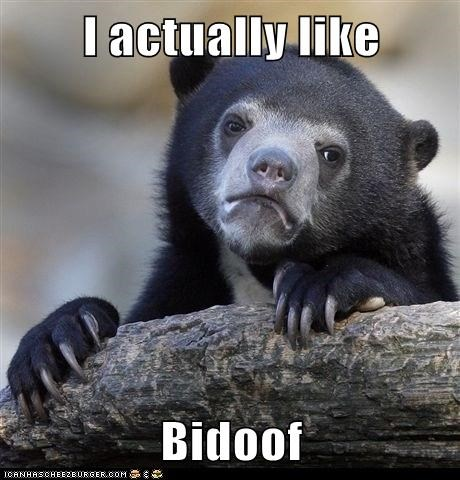 I actually like  Bidoof