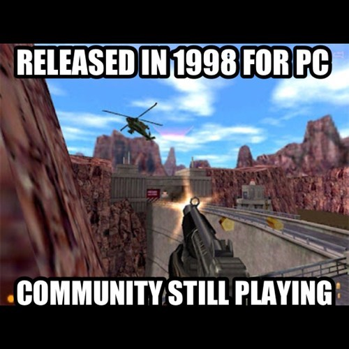 RELEASED IN 1998 FOR PC