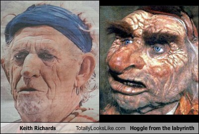 Keith Richards Totally Looks Like Hoggle from the labyrinth