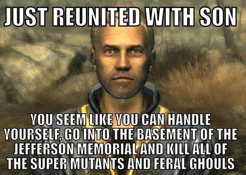 Scumbag Fallout Dad