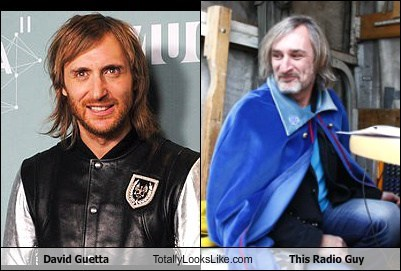 David Guetta Totally Looks Like This Radio Guy