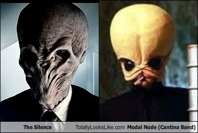 The Silence Totally Looks Like Modal Node (Cantina Band)