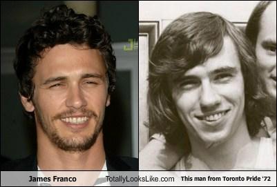 toronto,pride,James Franco,totally looks like,funny