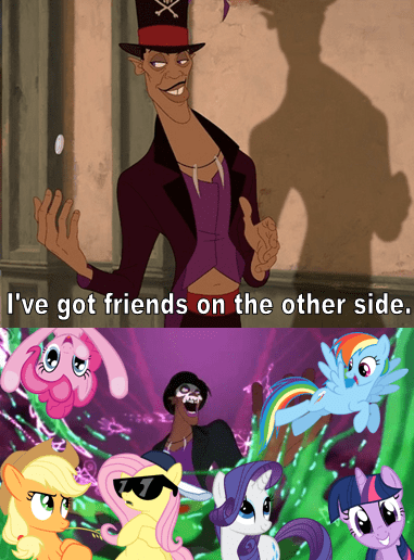 The Mane Six Be Back on the Other Side
