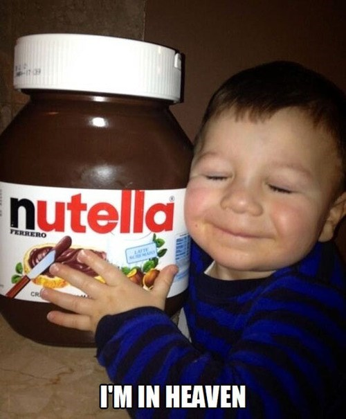 Babies,nutella,funny