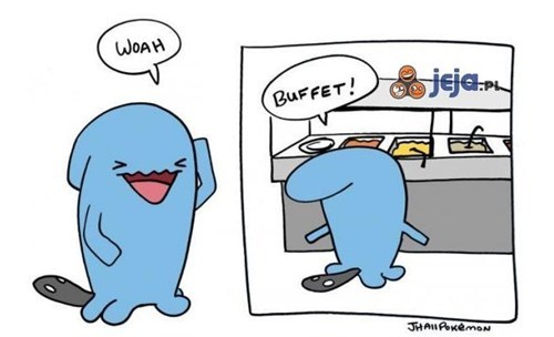 Wobbuffet is very hungry now