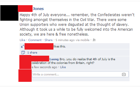 Oh, So That's What Independence Day is All About