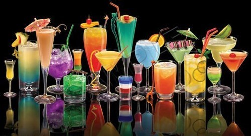 cocktails,summer,colorful,funny
