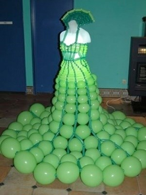 gowns,Balloons,funny