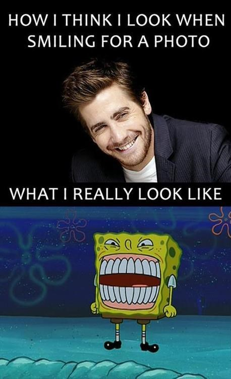 smiling,SpongeBob SquarePants