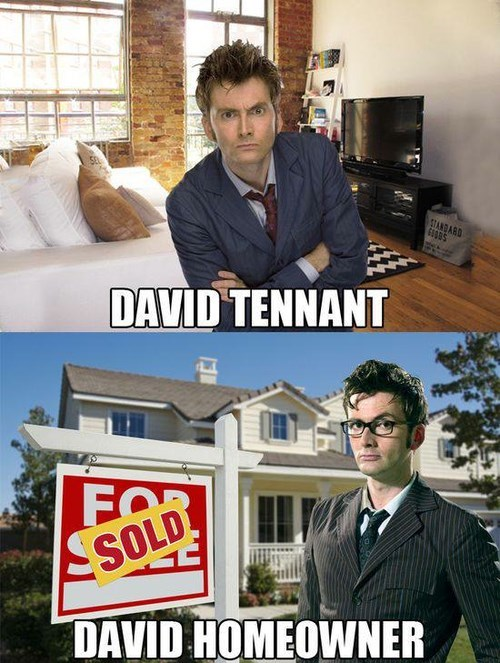 David Tennant,10th doctor,puns