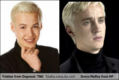 Tristian from Degrassi: TNG Totally Looks Like Draco Malfoy from HP
