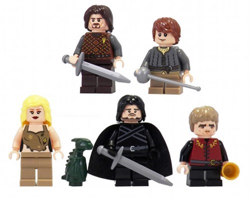 Game of Thrones Legos