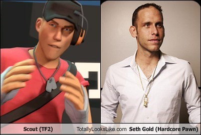 Scout (TF2) Totally Looks Like Seth Gold (Hardcore Pawn)