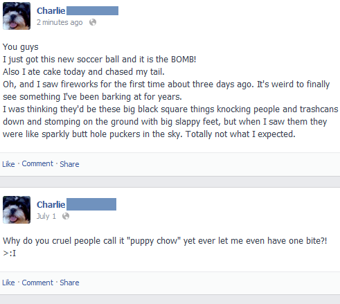 Charlie: A Dog on Facebook
