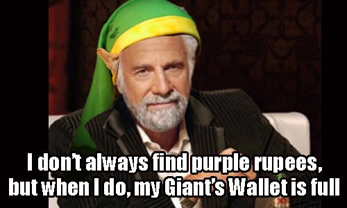 the most interesting man in the world,rupees,zelda