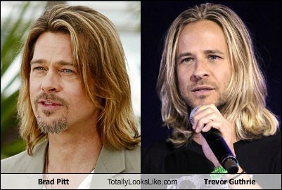Brad Pitt Totally Looks Like Trevor Guthrie