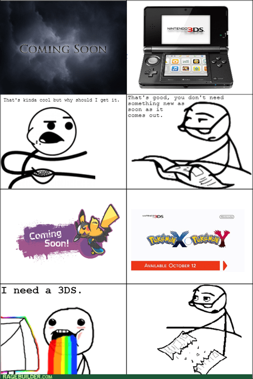 cereal guy,Pokémon,nintendo 3ds,Pokemon X,Pokemon Y