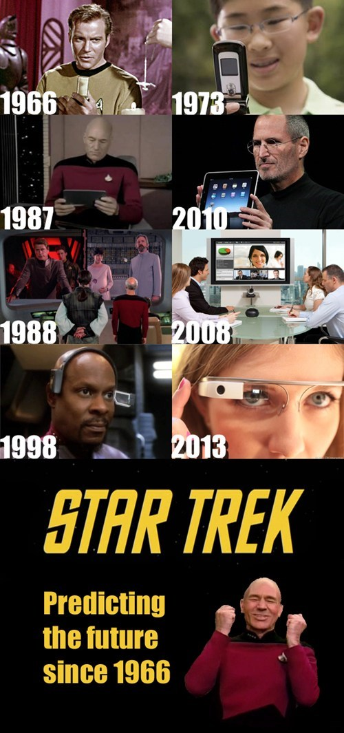 Did Gene Roddenberry have a Time Machine?