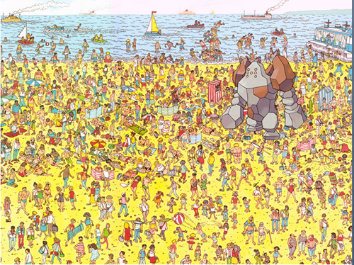 Where's Regirock?