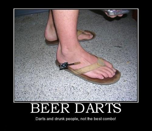 Darts Can Be Dangerous