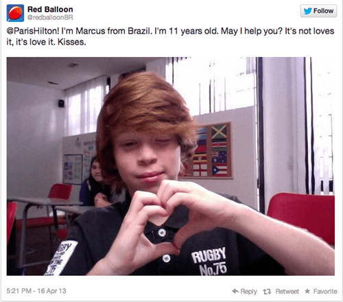 These Brazilian Kids Are Learning English by Correcting Celebrities' Grammar