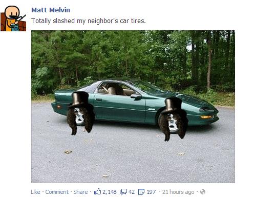 slash,auto,photoshop,prank