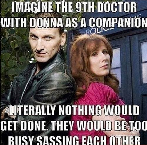 doctor who,9th doctor,donna noble
