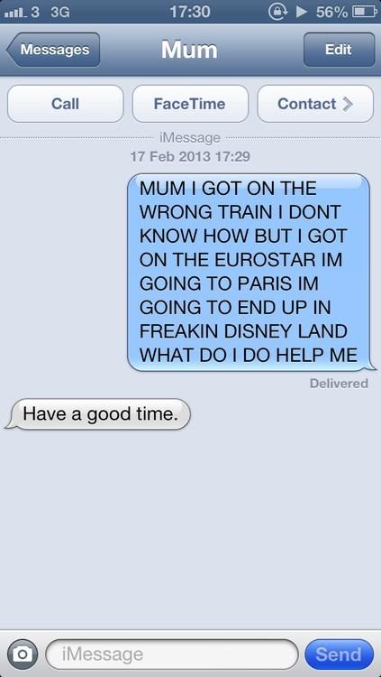 No Mum, Pls Halp!