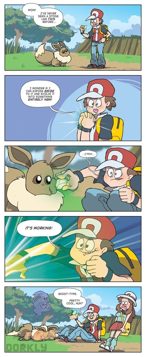 Eevee's New Eeveelution